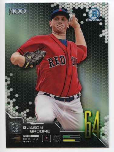 Photo of 2019 Bowman Chrome Scouts Top 100 #BTP64 Jason Groome