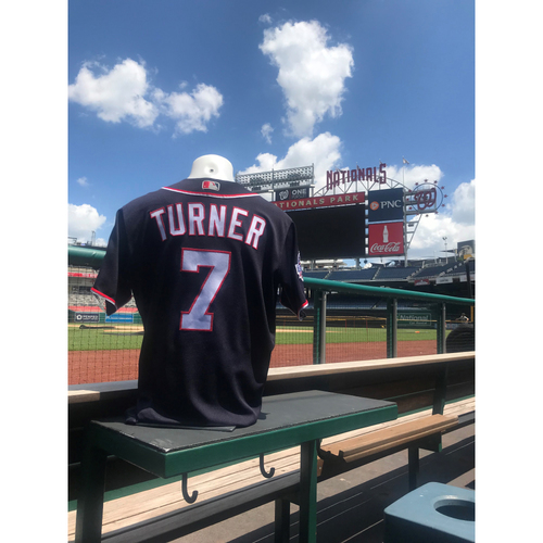 Trea Turner Game-Used Jersey
