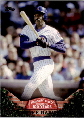 Photo of 2016 Topps 100 Years at Wrigley Field #WRIG11 Andre Dawson