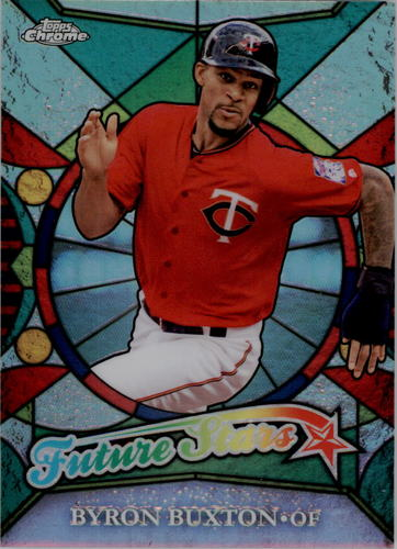 Photo of 2016 Topps Chrome Future Stars #FS11 Byron Buxton