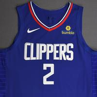 Kawhi Leonard - Los Angeles Clippers - Kia NBA Tip-Off 2019 - Game-Worn Icon Edition Jersey - Clippers' Debut - Game-High 30 Points