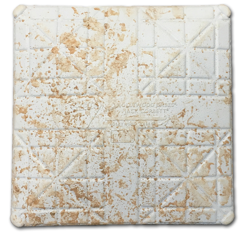 Photo of 12 Days of Auctions: Day 5 -- Game-Used 2nd Base -- Used in Innings 5 through 9 -- Nico Hoerner Wrigley Field Debut; Nick Castellanos 50th Double of Season -- Pirates vs. Cubs -- 9/13/19