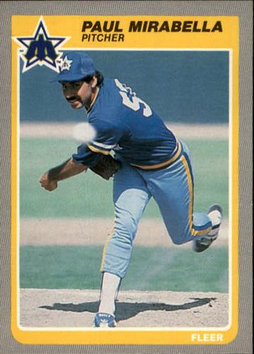 Photo of 1985 Fleer #494 Paul Mirabella