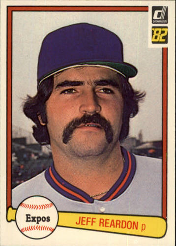 Photo of 1982 Donruss #547 Jeff Reardon