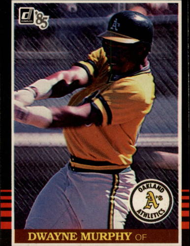 Photo of 1985 Donruss #420 Dwayne Murphy