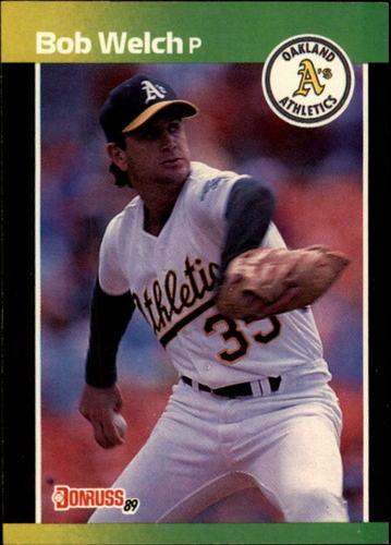 Photo of 1989 Donruss #332 Bob Welch