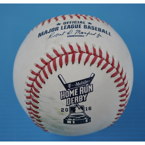Game-Used Baseball - 2016 Home Run Derby - Todd Frazier - Final Round - Out