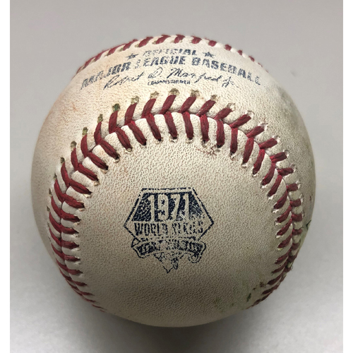 Photo of Game-Used Baseball: Ke'Bryan Hayes - Single - 7/17/2021