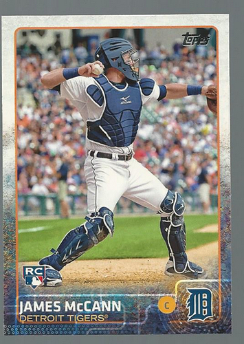 Photo of 2015 Topps #12 James McCann RC
