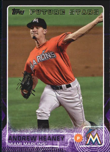 Photo of 2015 Topps Toys R Us Purple Border #147 Andrew Heaney FS