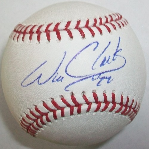 Will Clark Autographed Baseball