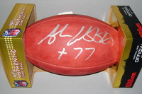 NFL - BENGALS ANDREW WHITWORTH SIGNED AUTHENTIC FOOTBALL