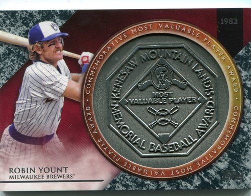 Photo of 2017 Topps Update MVP Award Relics #MVPRRY Robin Yount