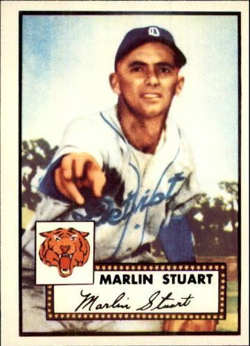 Photo of 1983 Topps 1952 Reprint #208 Marlin Stuart