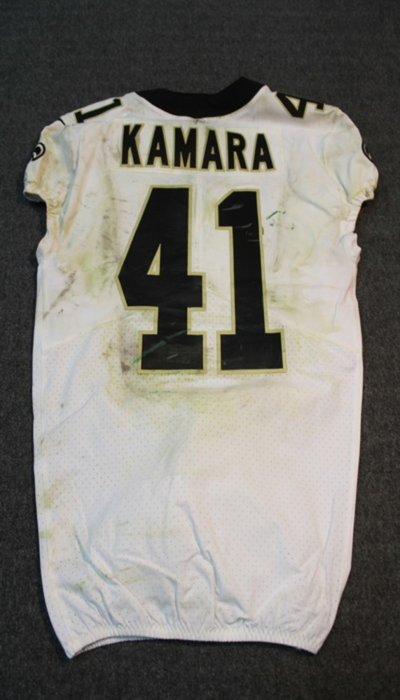 first rate 2566f b8033 NFL Auction | SPORT RELIEF - SAINTS ALVIN KAMARA GAME WORN ...