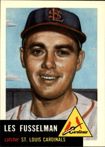 Photo of 1991 Topps Archives 1953 #218 Les Fusselman