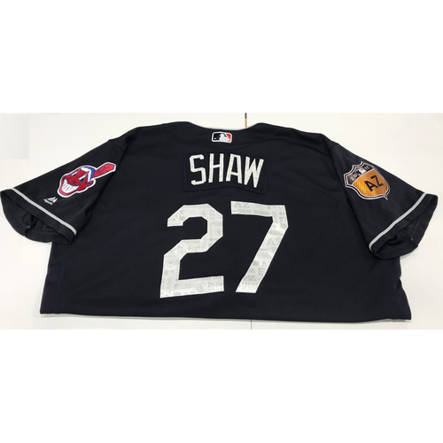 Photo of Bryan Shaw 2017 Spring Training Jersey