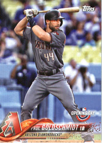 Photo of 2018 Topps Opening Day #142 Paul Goldschmidt