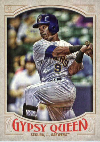 Photo of 2016 Topps Gypsy Queen #293 Jean Segura