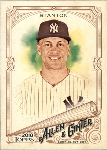 Photo of 2018 Topps Allen and Ginter #15 Giancarlo Stanton