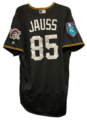 Photo of Dave Jauss Game-Used Spring Training Jersey