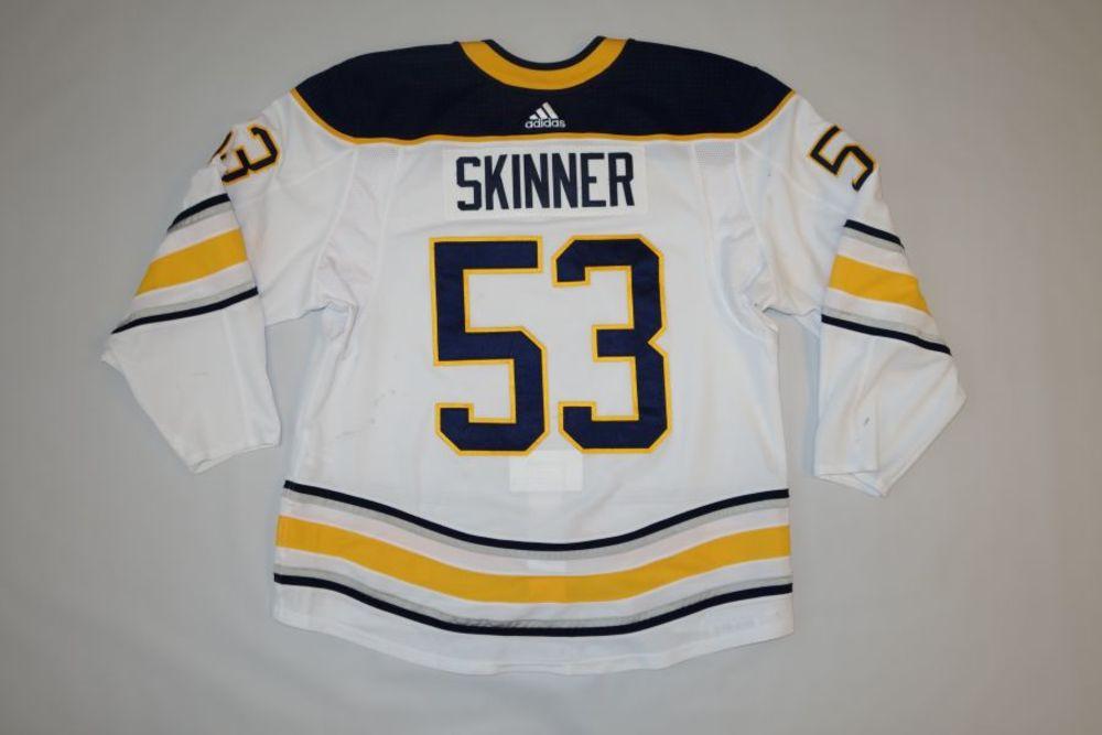 buy popular 6b6fb 5ac49 Jeff Skinner 2018-19 Buffalo Sabres Set 1 Away Jersey - NHL ...