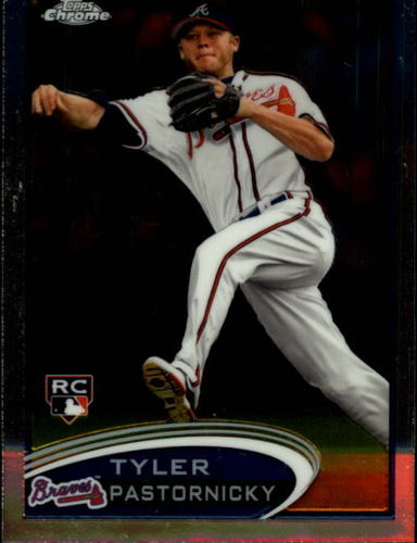Photo of 2012 Topps Chrome #183 Tyler Pastornicky RC