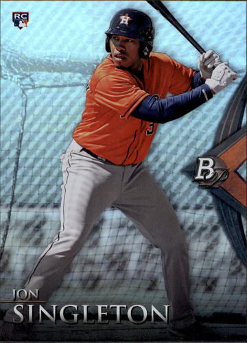 Photo of 2014 Bowman Platinum #97 Jon Singleton RC