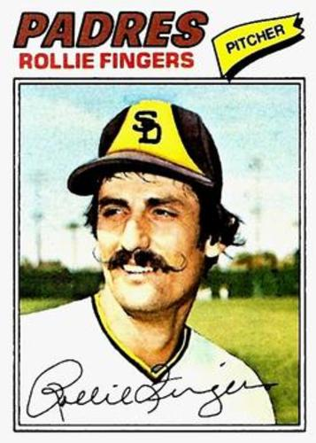 Photo of 1977 Topps #523 Rollie Fingers