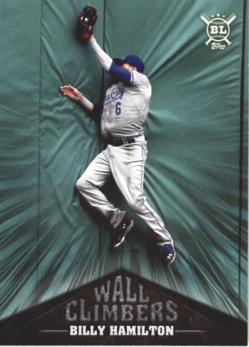 Photo of 2019 Topps Big League Wall Climbers #WC6 Billy Hamilton