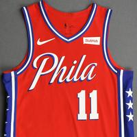 James Ennis III - Philadelphia 76ers - Game-Worn Statement Edition Jersey - 2019-20 Season