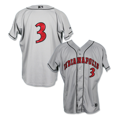 #3 Blake Cederlind Game Worn Road Jersey