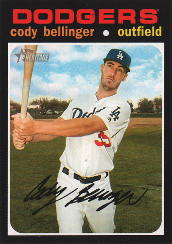 Photo of 2020 Topps Heritage #257 Cody Bellinger