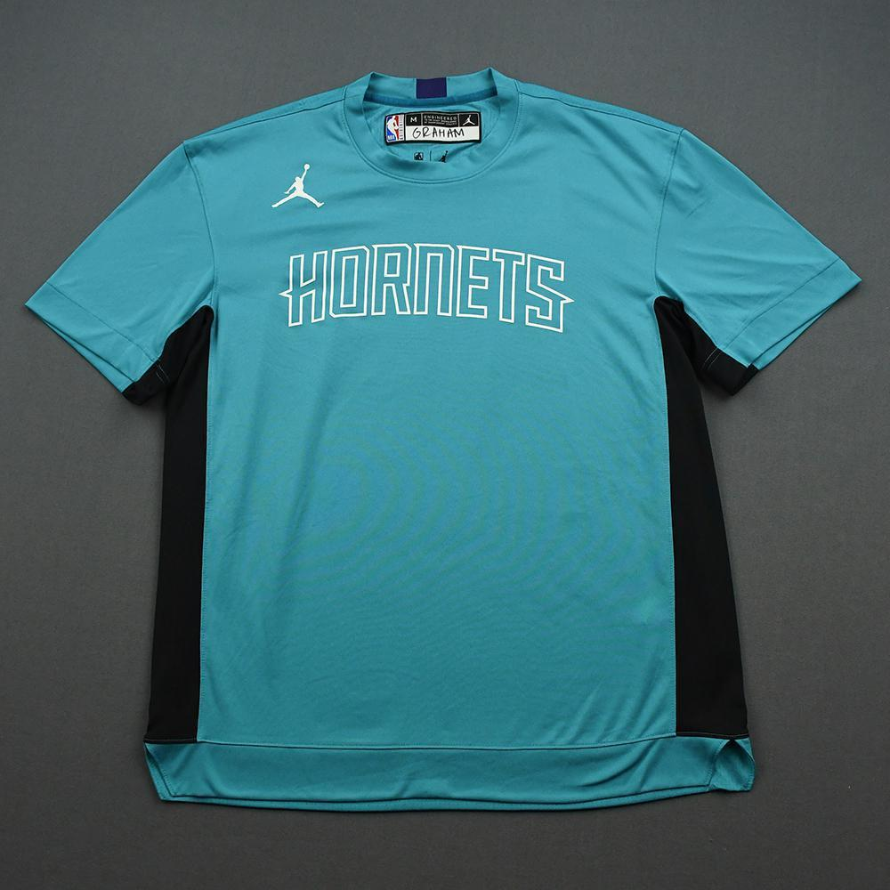 Devonte' Graham - 2020 NBA Rising Stars - Team USA - Warm-up and Game-Worn Shooting Shirt