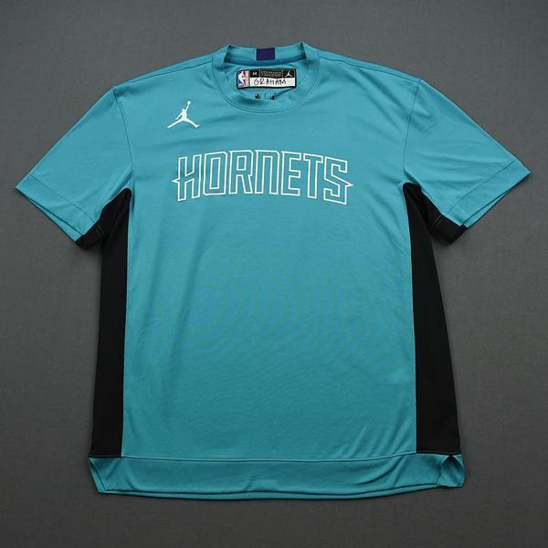 Image of Devonte' Graham - 2020 NBA Rising Stars - Team USA - Warm-up and Game-Worn Shooting Shirt