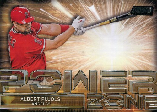 Photo of 2017 Stadium Club Power Zone #PZAP Albert Pujols