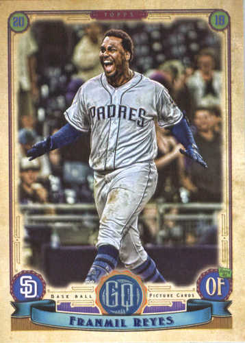 Photo of 2019 Topps Gypsy Queen #289 Franmil Reyes