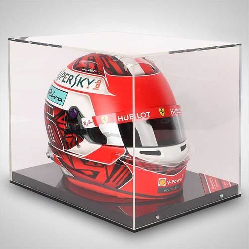 Photo of Charles Leclerc 2019 Replica Belgian Grand Prix Special Edition Helmet