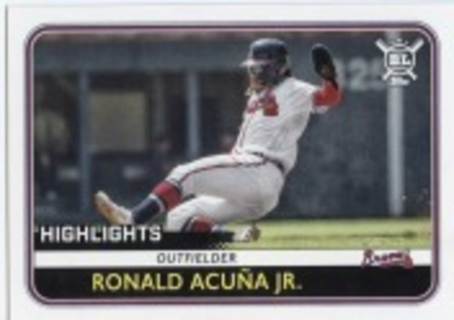 Photo of 2020 Topps Big League #300 Ronald Acuna Jr. HL