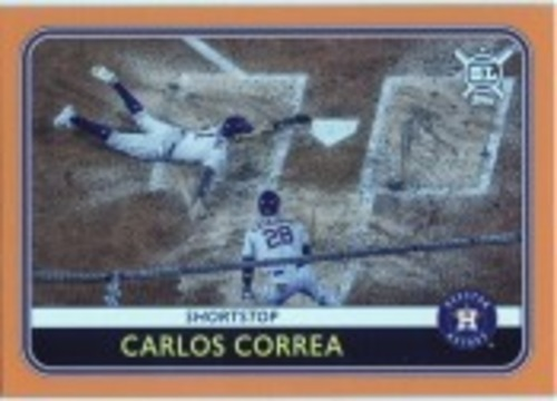 Photo of 2020 Topps Big League Orange #189 Carlos Correa