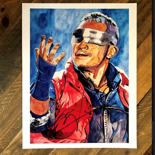 Photo of Kushida SIGNED 11 x 14 Rob Schamberger Print
