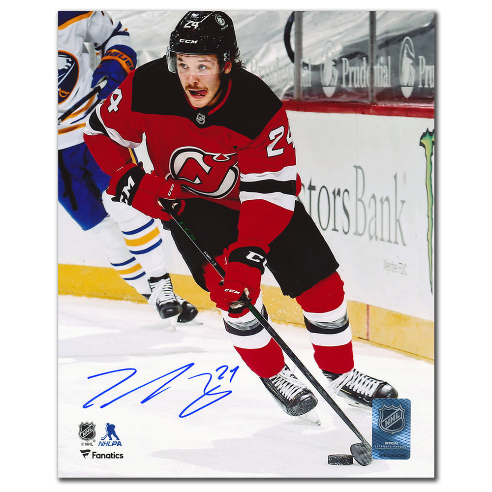 Ty Smith New Jersey Devils RUSH Autographed 8x10