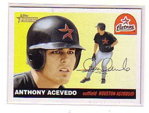 Photo of 2004 Topps Heritage #27 Anthony Acevedo RC
