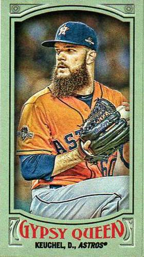 Photo of 2016 Topps Gypsy Queen Mini Green #146 Dallas Keuchel