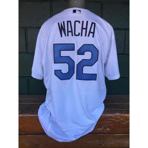 Cardinals Authentics: Michael Wacha Game Worn Father's Day Jersey