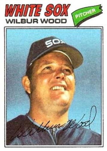Photo of 1977 Topps #198 Wilbur Wood