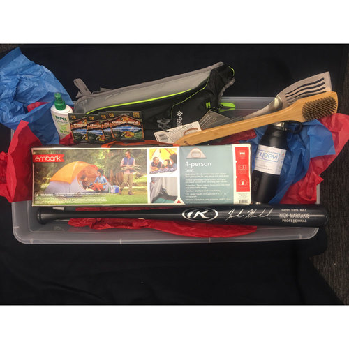 Braves Charity Auction - Braves Wives Favorite Things Basket - Nick Markakis