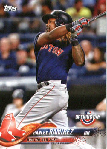 Photo of 2018 Topps Opening Day #147 Hanley Ramirez