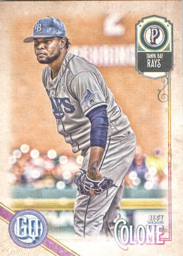 Photo of 2018 Topps Gypsy Queen #28 Alex Colome