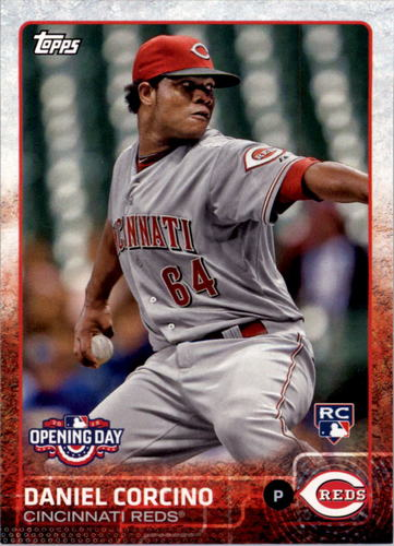 Photo of 2015 Topps Opening Day #156 Daniel Corcino RC